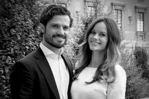 Prins Carl-Philip en prinses Sofia van Zweden