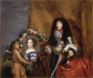 Portret van Monsieur