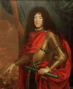 Portret van Monsieur (Philippe, hertog van Orléans)