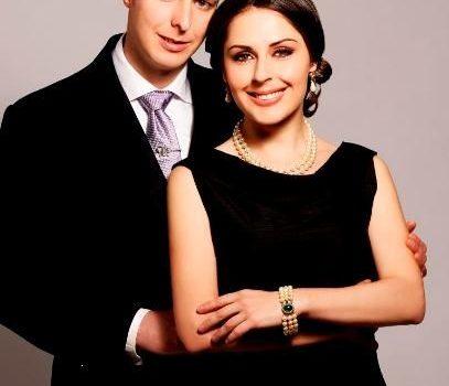 Prins Leka van Albanië en zijn verloofde Elia Zaharia